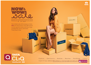 Everything that's wow is now just a CLiQ away with Tata CLiQ's NOW & WOW sale