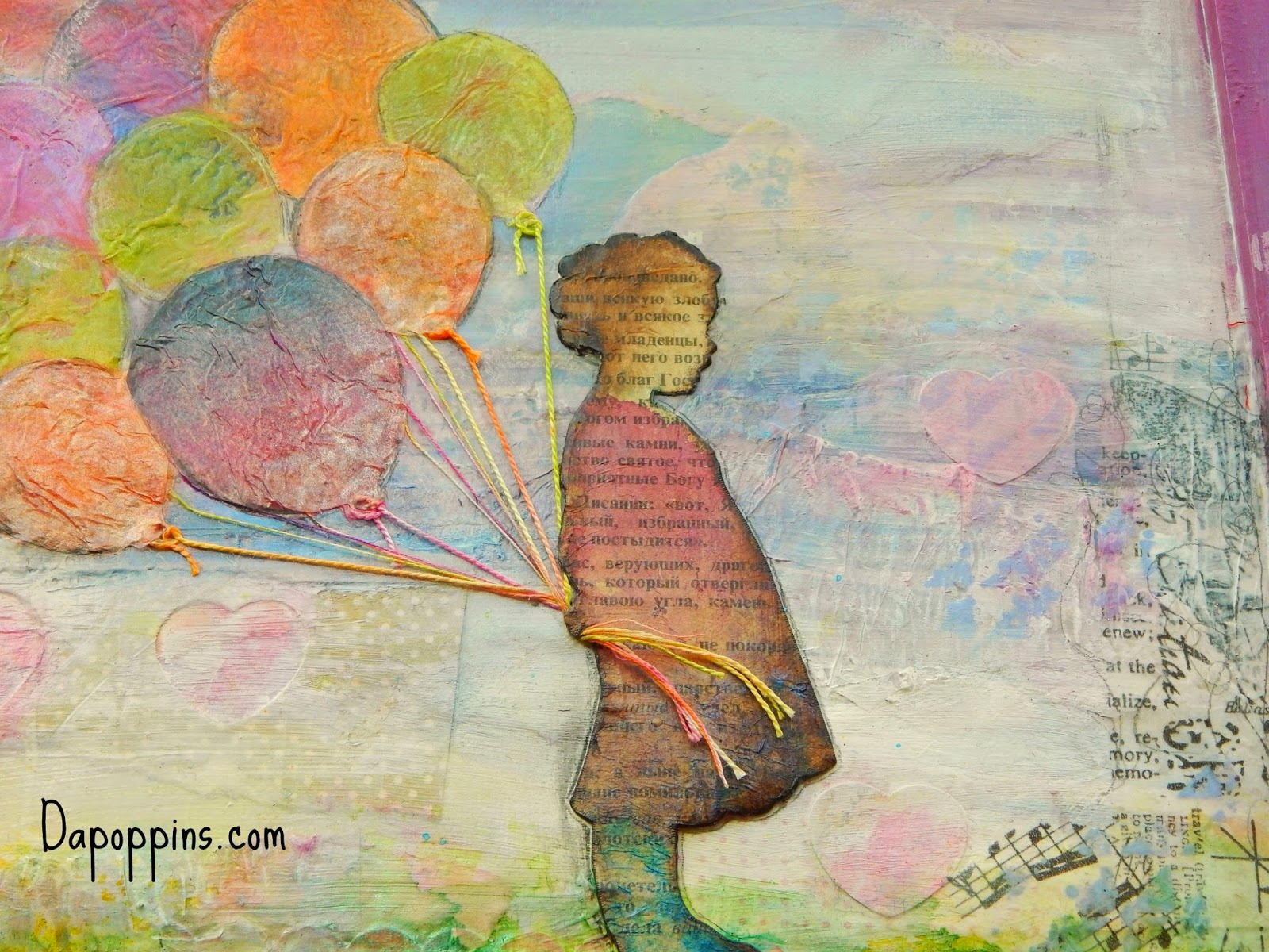 Collage, Mixed Media, Art of Faith North West, Children, Kid's Bedroom Wall Art