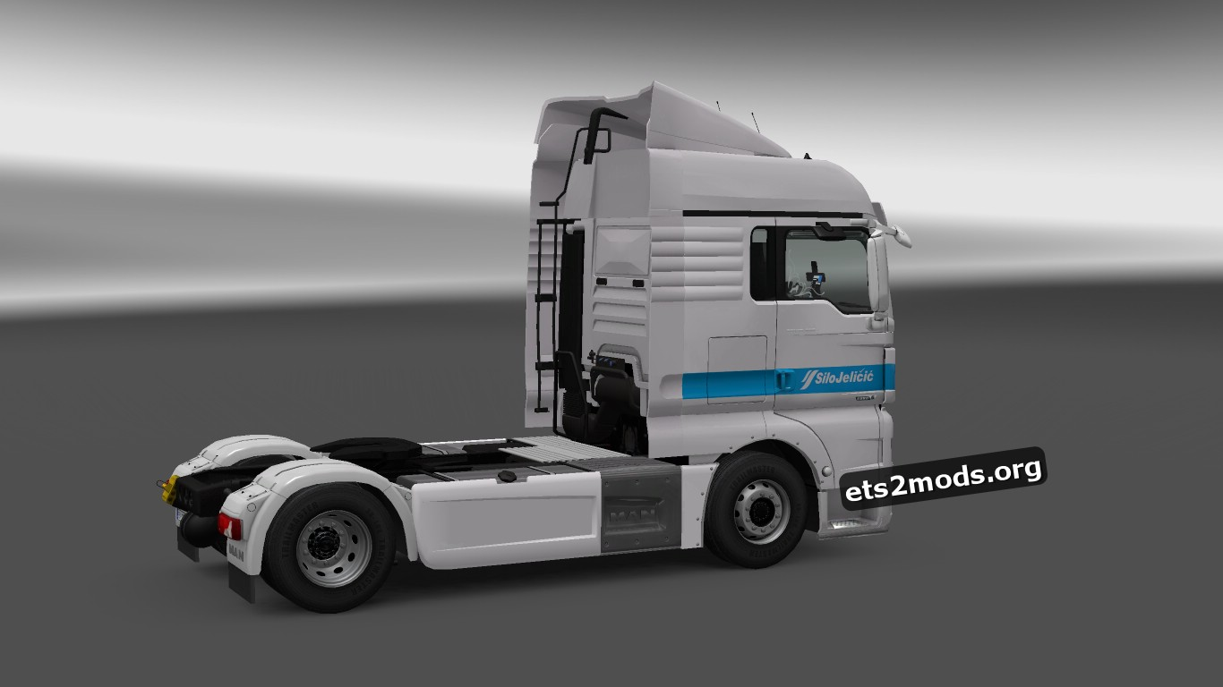 Silo Jelicic Skin for MAN Euro 6