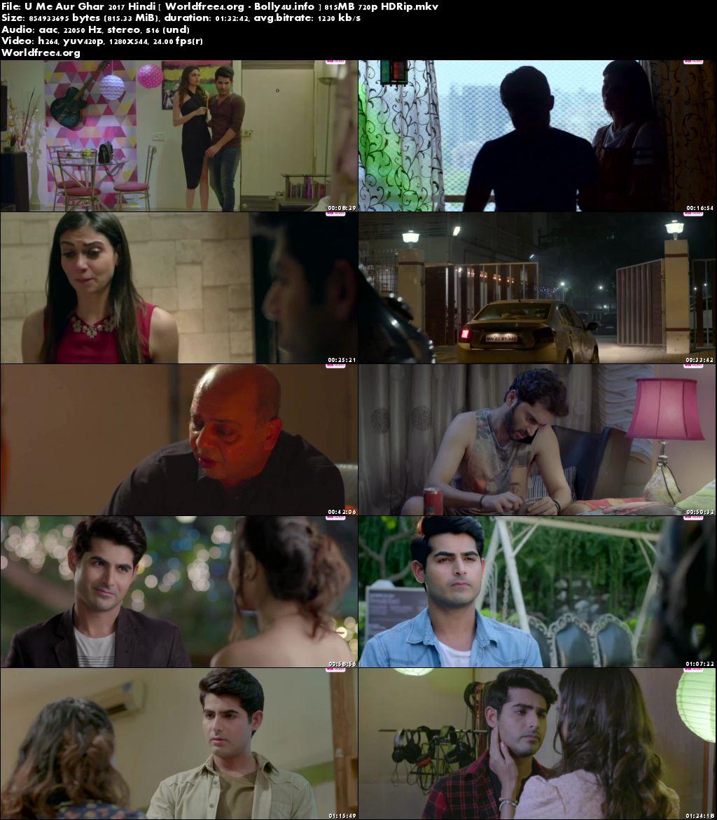 U Me Aur Ghar 2017 HDRip 800MB Hindi Movie 720p Download