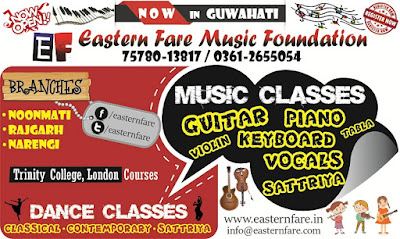 Music Classes in Guwahati at Eastern Fare Music Foundation