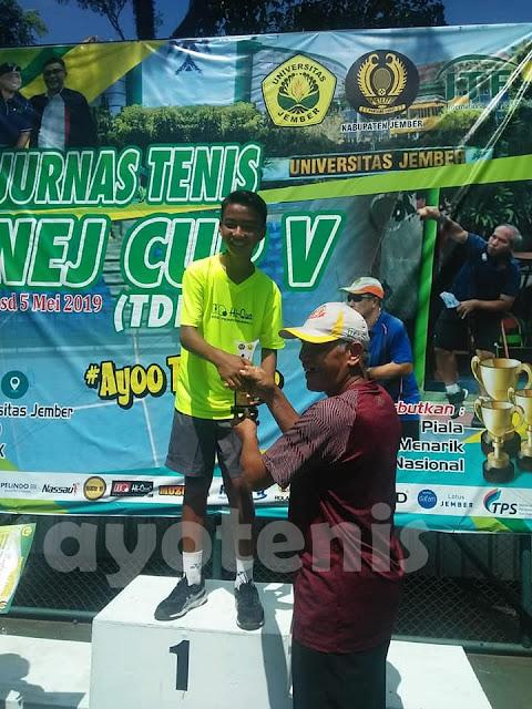 Kalahkan Putra Suyadi, Sultan Kafi Delon Juara Unej Cup V