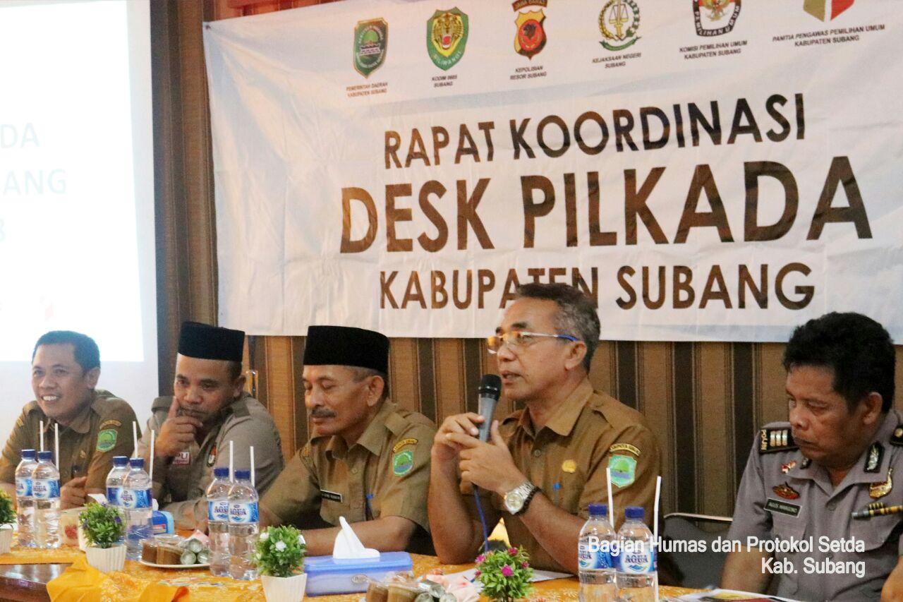 Plt Bupati Subang Himbau ASN Harus Netral di Pilkada