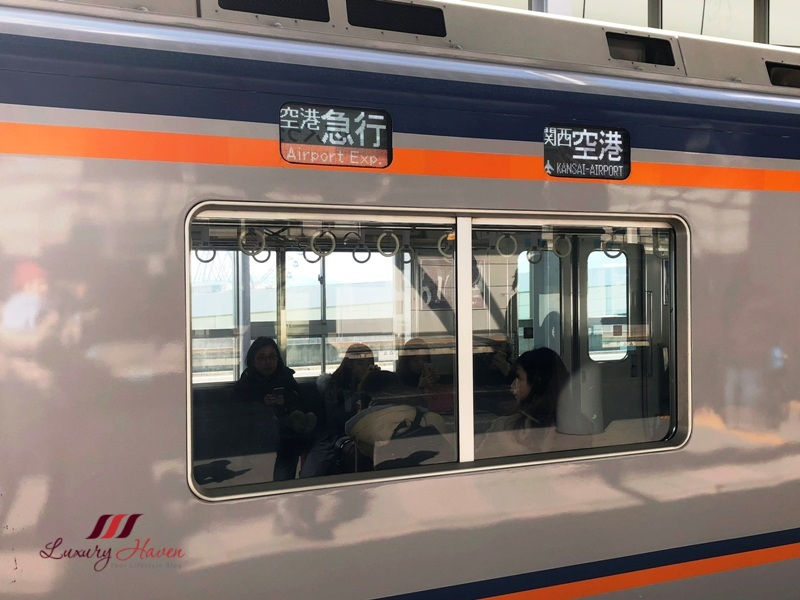 nankai line airport express to kansai station