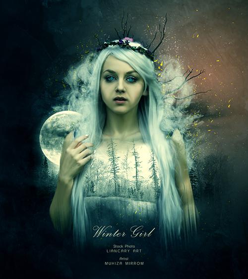 Create a Winter Girl Portrait Photo Manipulation In Photoshop ...