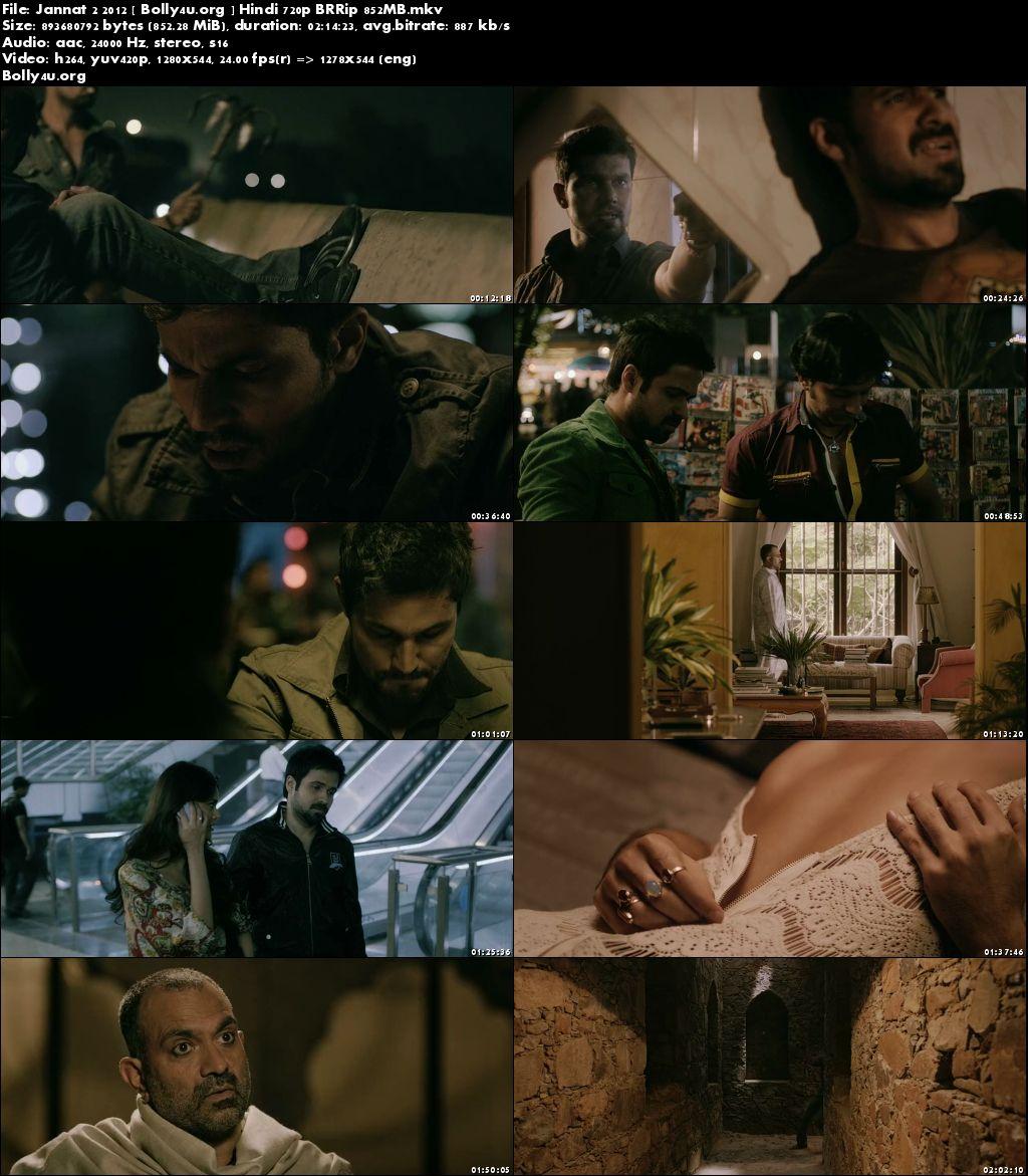 Jannat 2 2012 BRRip 400Mb Full Hindi Movie Download 480p