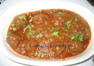 Mince meatballs in gravy