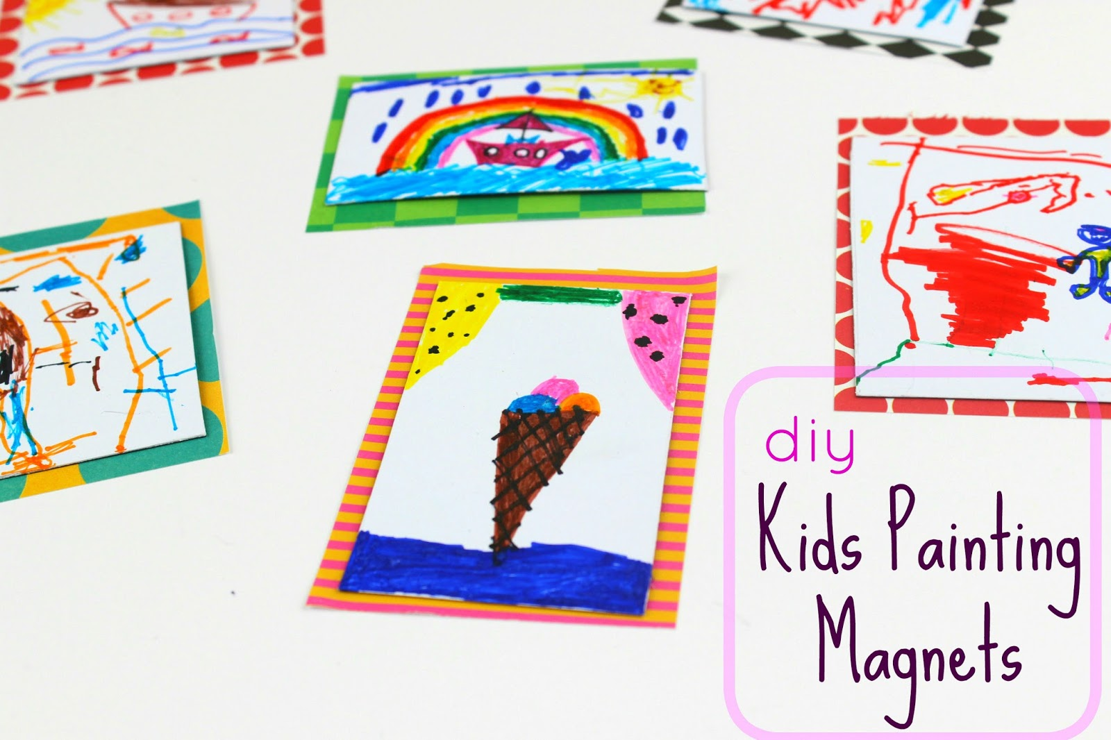Diy Kids Painting Magnets!  df15be0a64b