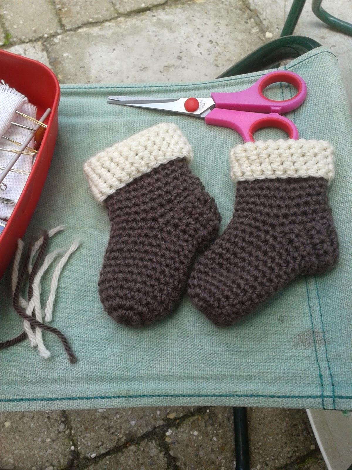Mijn Haak En Brei Werkjes Baby Sokjes