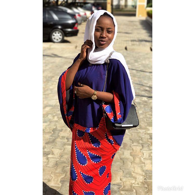 Zafaffan Hotunan Jaruma Maryam Yahya Wanda Sunka ƙawatar