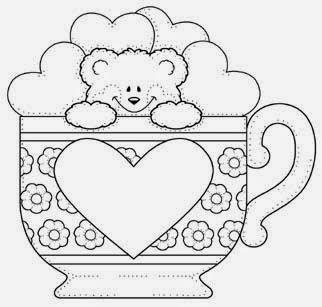 Jogo Desenhos De Ursinhos Fofos E Cutes Para Colorir Pintar E