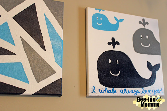 geometric wall decor, geometric wall decor using painters tape, triangle painting, triangle wall decor, wall decor, navy decor, navy wall decor, painters tape, painter's tape art, painter's tape decor, painter's tape painting, painter's tape craft, easy wall decor, DIY wall decor, DIY paintings, DIY painting, geometric painting, geometric art, geometric canvas, triangle painting, navy painting, triangle decor, geometric nursery, geometric nursery decor, nursery decor, wall decor, simple wall decor, whale painting, whale decor, whale nursery, DIY whale painting, whale art, navy nursery, navy nursery decor, whale nursery decor, I whale always love you