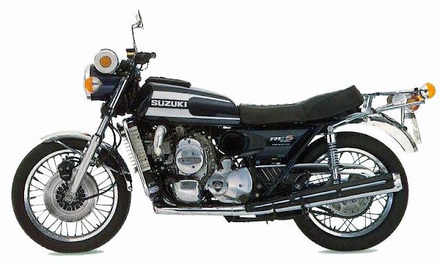 Suzuki RE5 Rotary Engine