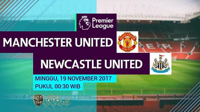 Prediksi Bola : Manchester United Vs Newcastle United , Minggu 19 November 2017 Pukul 00.30 WIB @ MNCTV