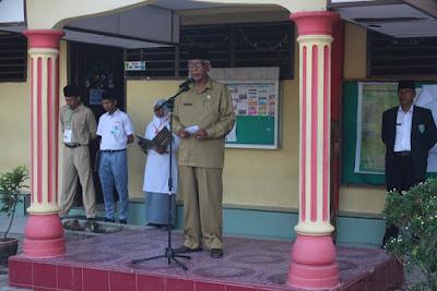 Plt Kakankemenag Tanjungbalai Resmi Buka Pelaksanaan UNBK