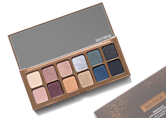 Laura Mercier Nights Out Eye Shadow Palette Review Swatches Holiday 2018