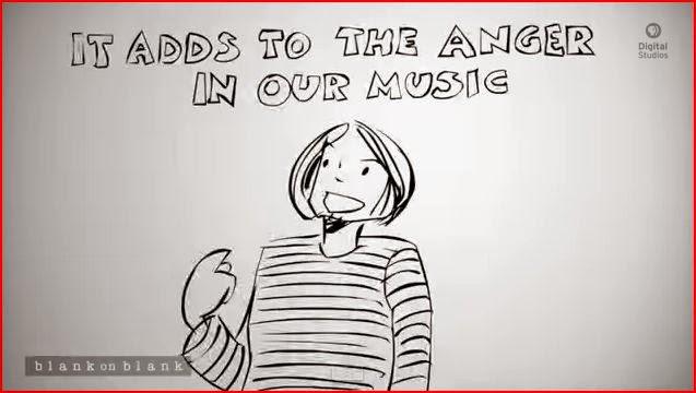 Kurt Cobain animation animatedfilmreviews.filminspector.com