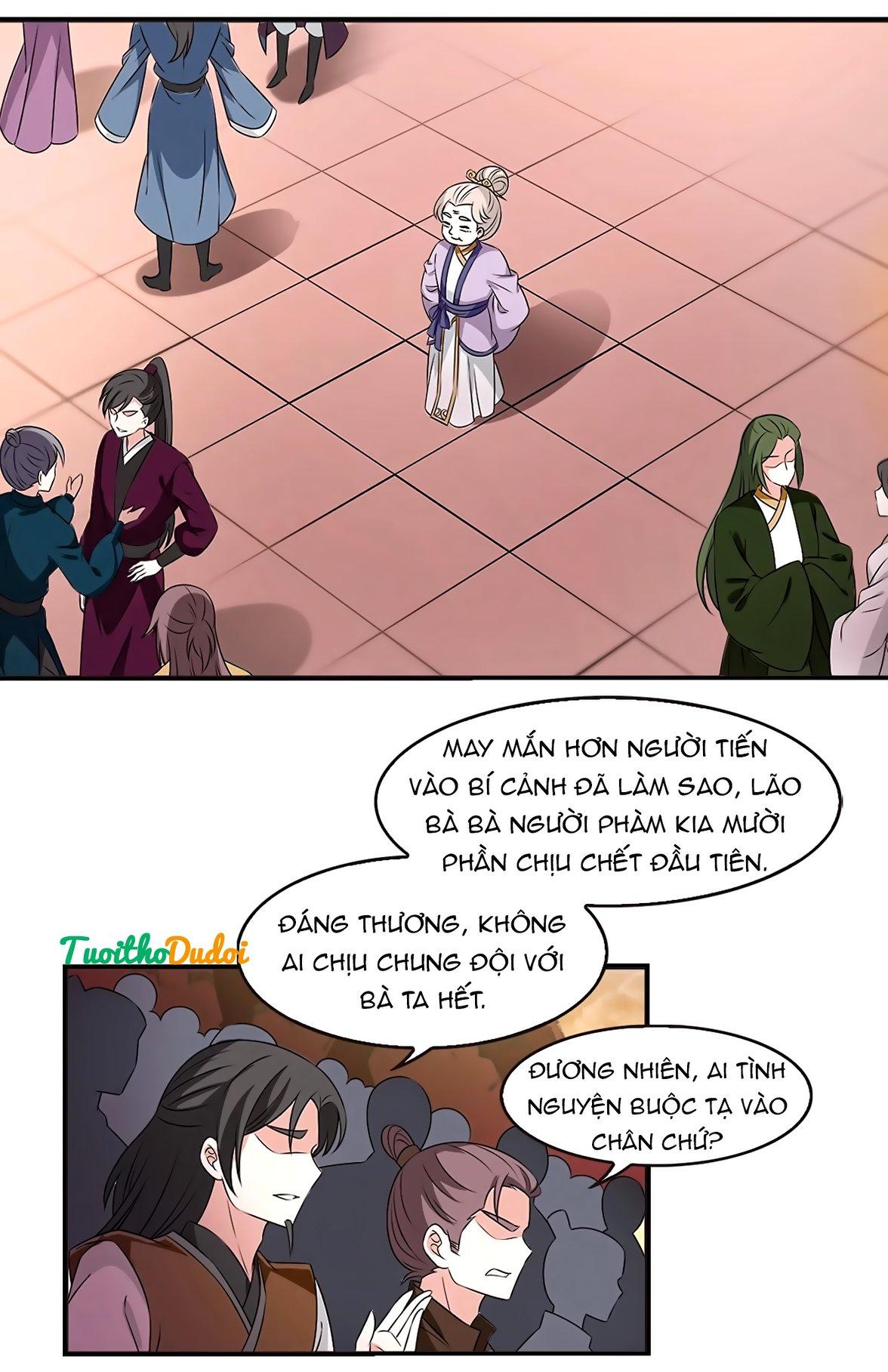 Phong Khởi Thương Lam Chapter 430 - Trang 1
