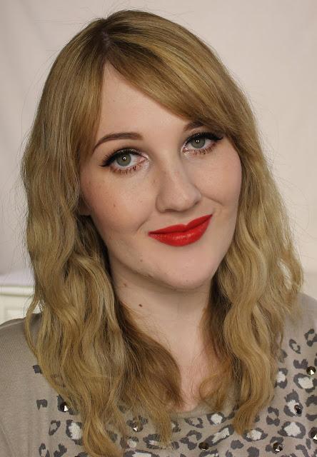 MAC MONDAY   MAC Scarlet Ibis Lipstick swatches & Review