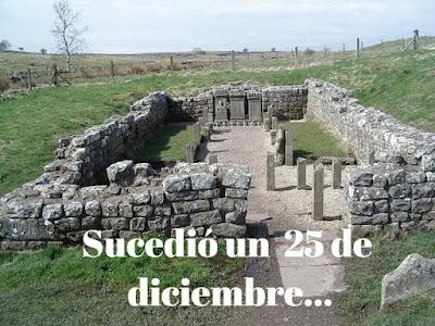 Mitreo del muro de Adriano