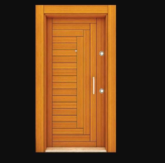 Bentuk dan model pintu Rumah 1 Lantai desain minimalis