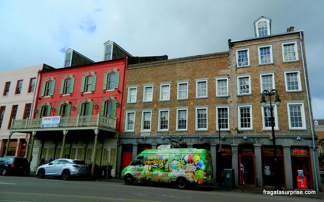 Arquitetura do French Quarter de Nova Orleans