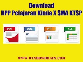 Download RPP Pelajaran Kimia X SMA KTSP