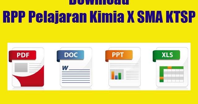 Download Rpp Pelajaran Kimia X Sma Ktsp Windowbrain