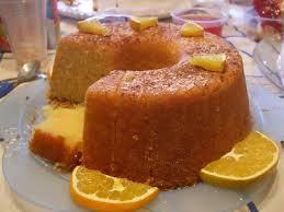 Receita de bolo de laranja diet
