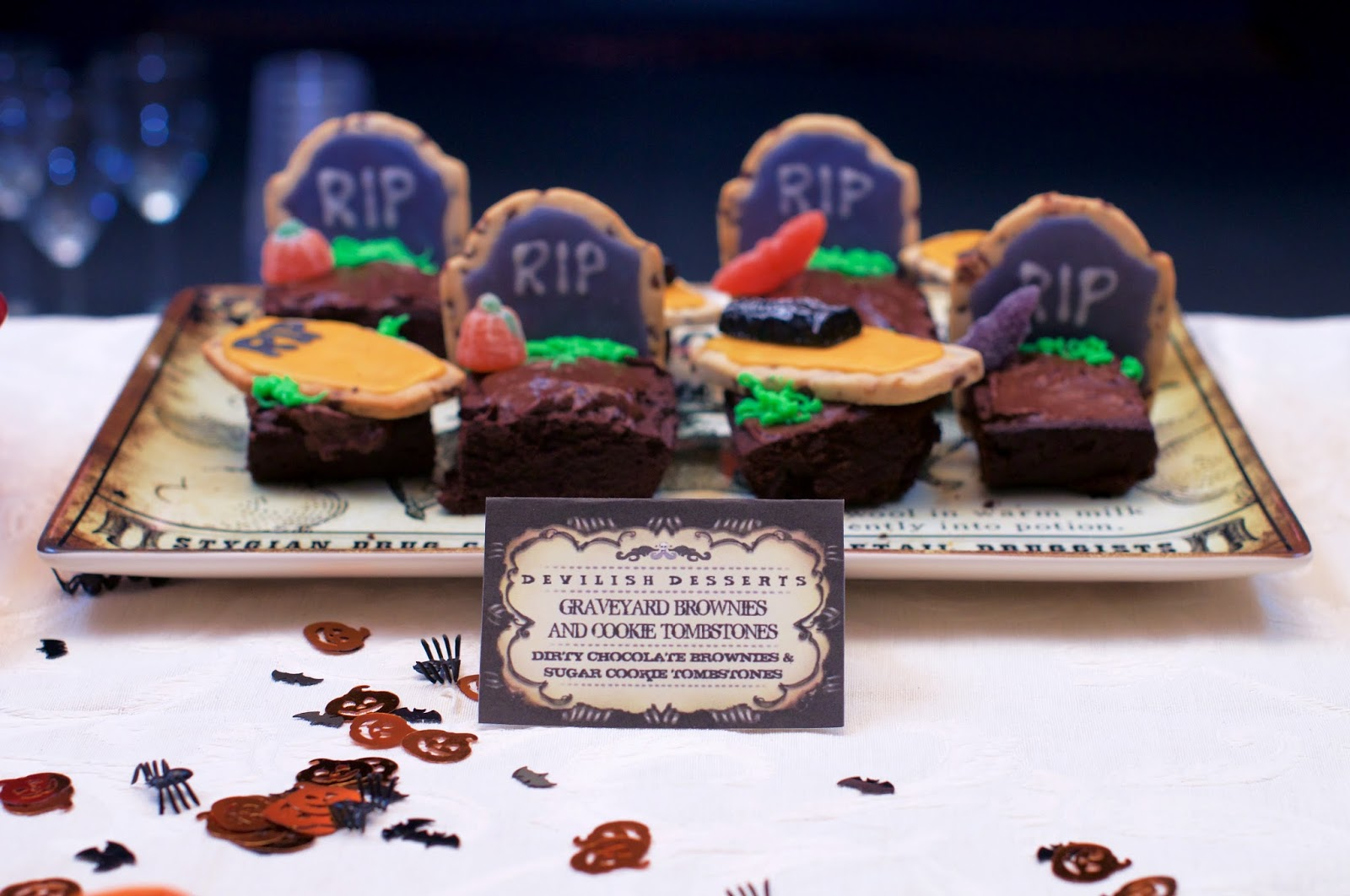 Boo-tiful Cookies and Brownies!