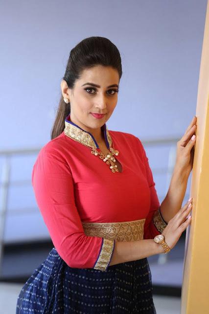 Manjusha Stills At Ego Movie Teaser Launch