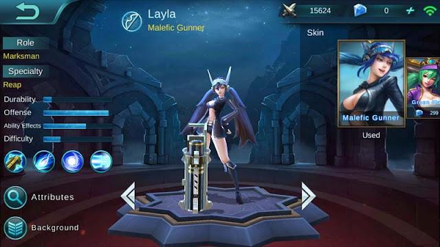 Layla Hero Terbaik Mobile Legends