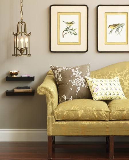 Analytical Gray Sherwin William Paint Color On Pale Gold Wall Color