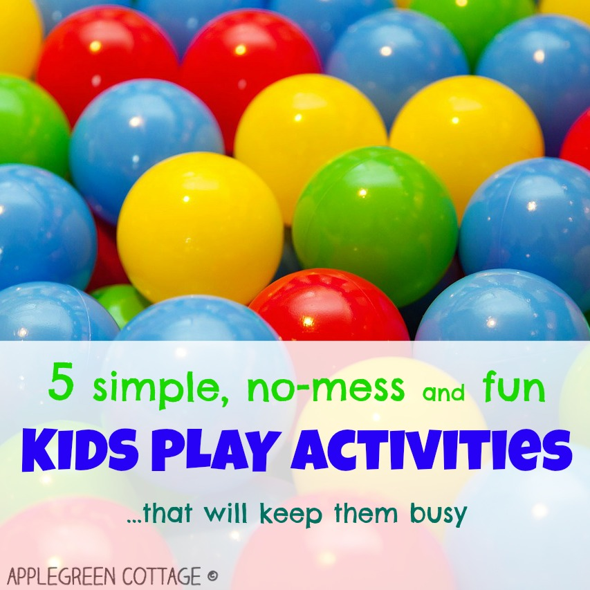 http://applegreencottage.blogspot.com/2015/03/5-simple-activities-to-keep-kids-busy.html