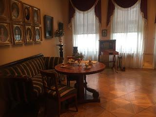 クノーブラウフ邸内部