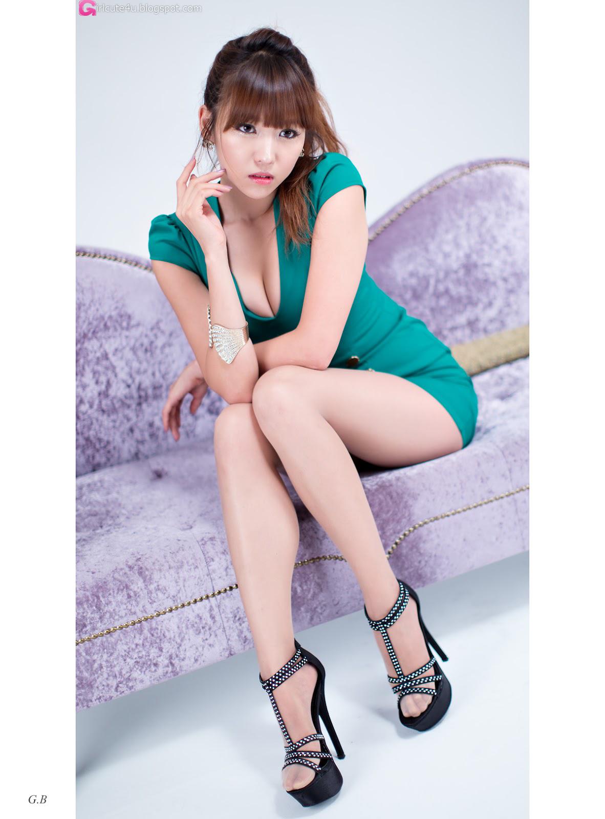 Cute Asian Girl Sexy Office Lady - Lee Eun Hye-8908