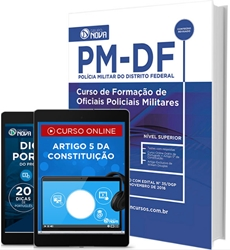 apostila concurso PMDF 2016/2017 CFO