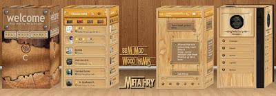 BBM Mod Wood Themes v2.13.1.14 Apk Terbaru