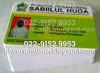 buat kartu pelajar nisn nasional indonesia siswa santri pondok pesantren idcard murah