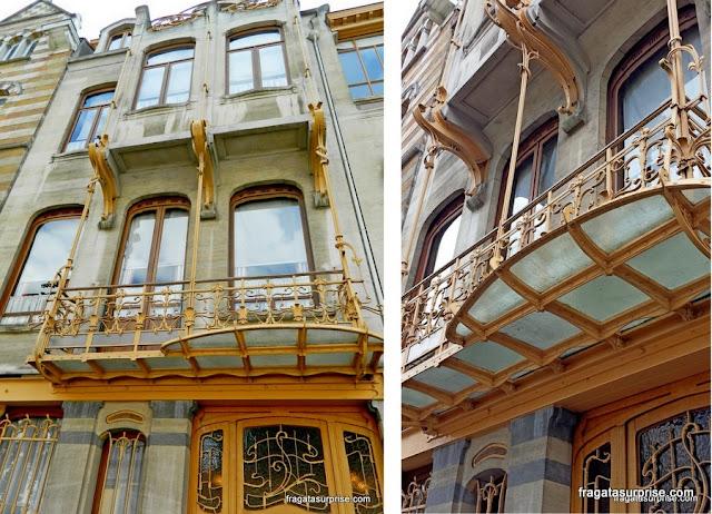 Museu Victor Horta, art nouveau em Bruxelas
