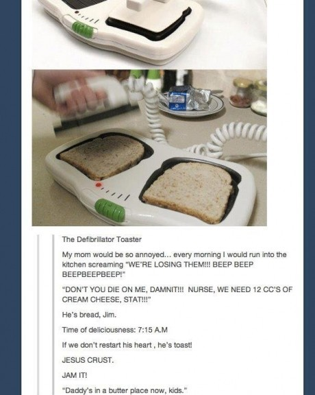 If we dont restart his heart hes toast  Dr Heckle