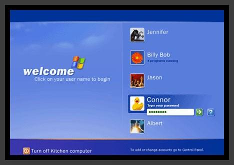 how to get around admin password on windows xp