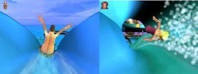 imagen de los toboganes del juego.