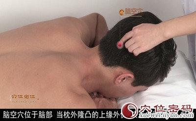 腦空穴位 | 腦空穴痛位置 - 穴道按摩經絡圖解 | Source:xueweitu.iiyun.com