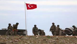 Présence des troupes turques dans le nord de la Syrie