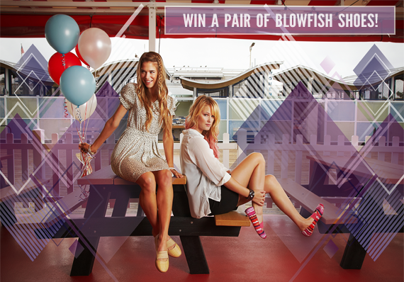 Win a Pair of Blowfish Shoes from Bubby and Bean!