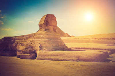 The Great Sphinx of Giza, Mesir