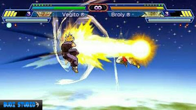 Dragon Ball Z: Shin Budokai - Another Road PPSSPP PSP