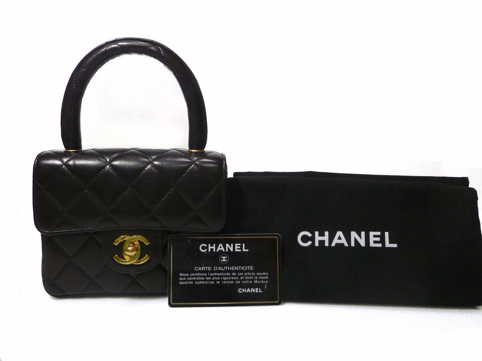 Chanel Mini Kelly Tote Bag