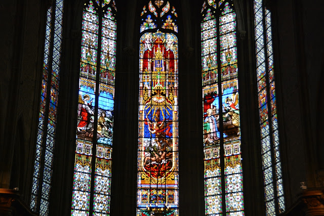 St-Michel Dijon stained glass